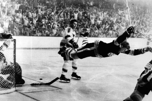 Bobby Orr Talks Hockeys Most Iconic Photograph