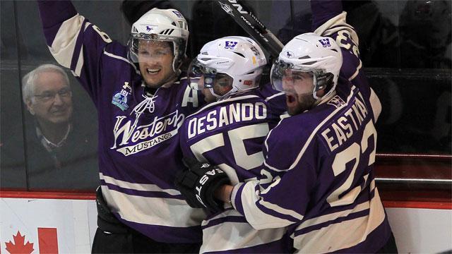 Western tops UNB, advance to CIS hockey final - Sportsnet.ca