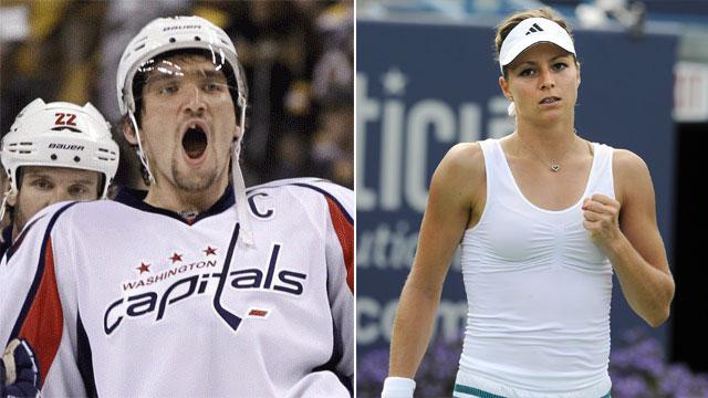 Russian tennis player wedding