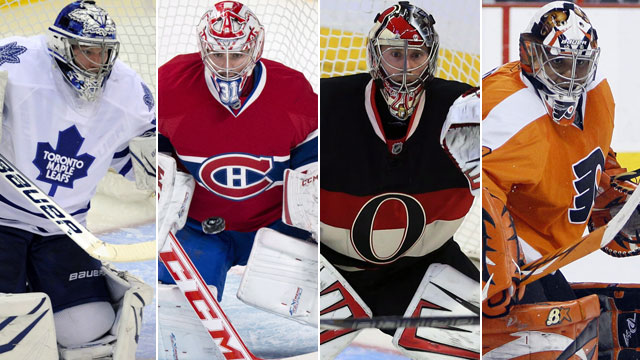 goaltenders in the nhl Can you name the goalies that played the most regular season games of each team the last five seasons.