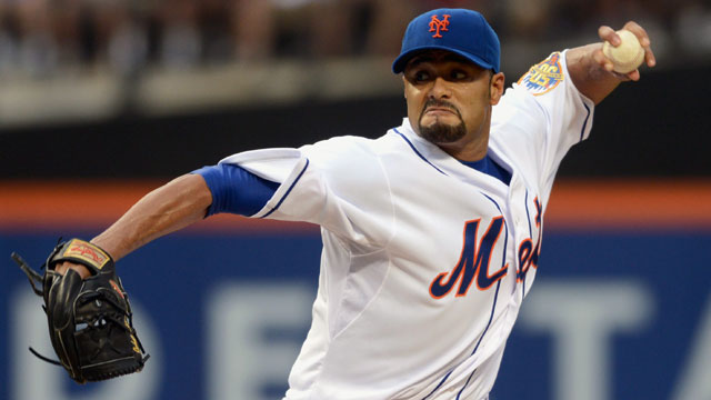 Report: Blue Jays scouts watch Johan Santana
