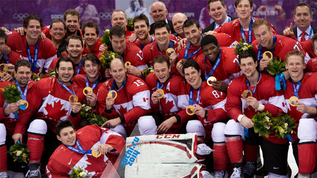 Picking The  Olympic Hockey Team For Canada