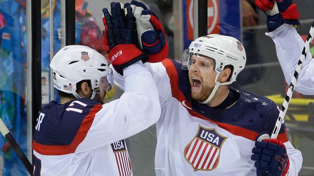 Sochi: Bettors Backing Team USA To Beat Team Canada