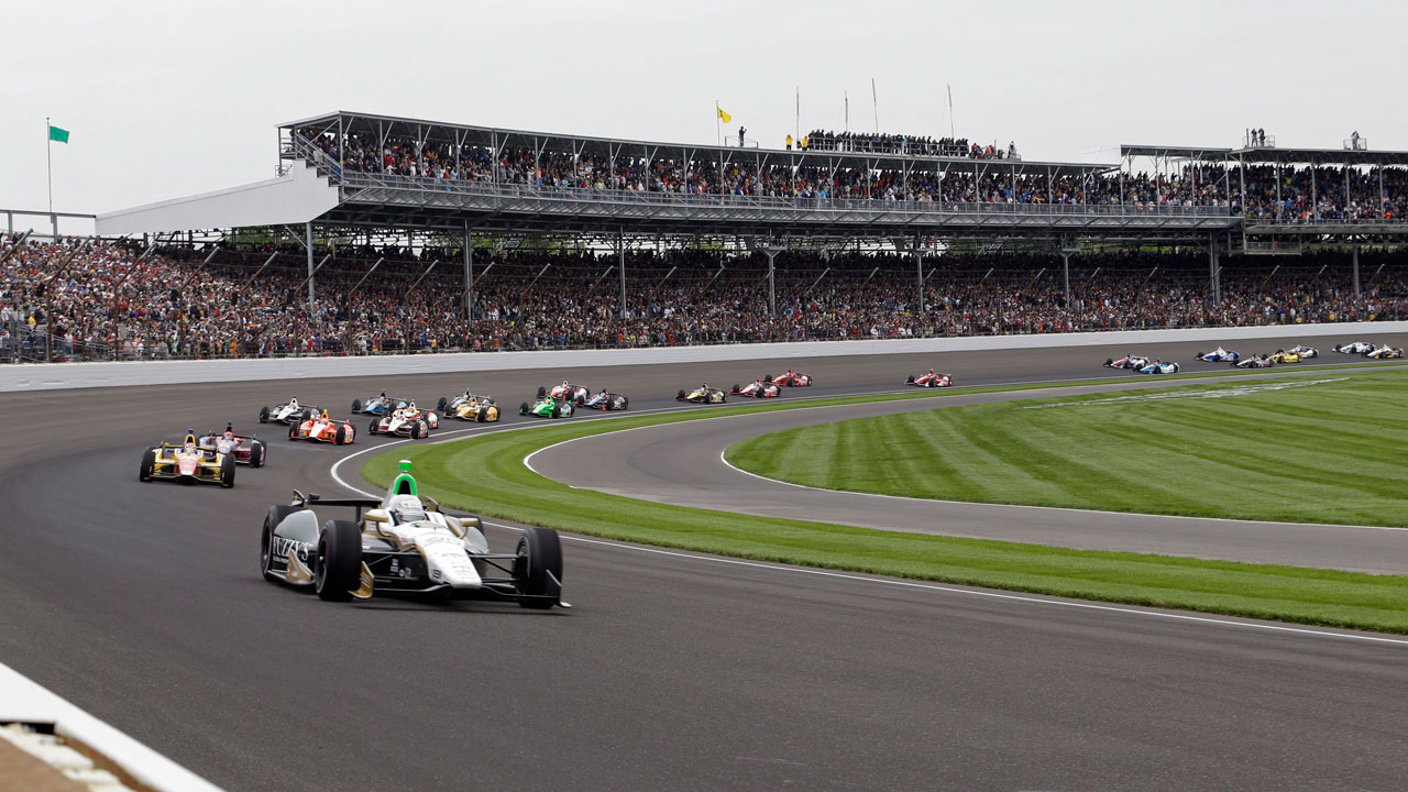indianapolis 500 play by play sports