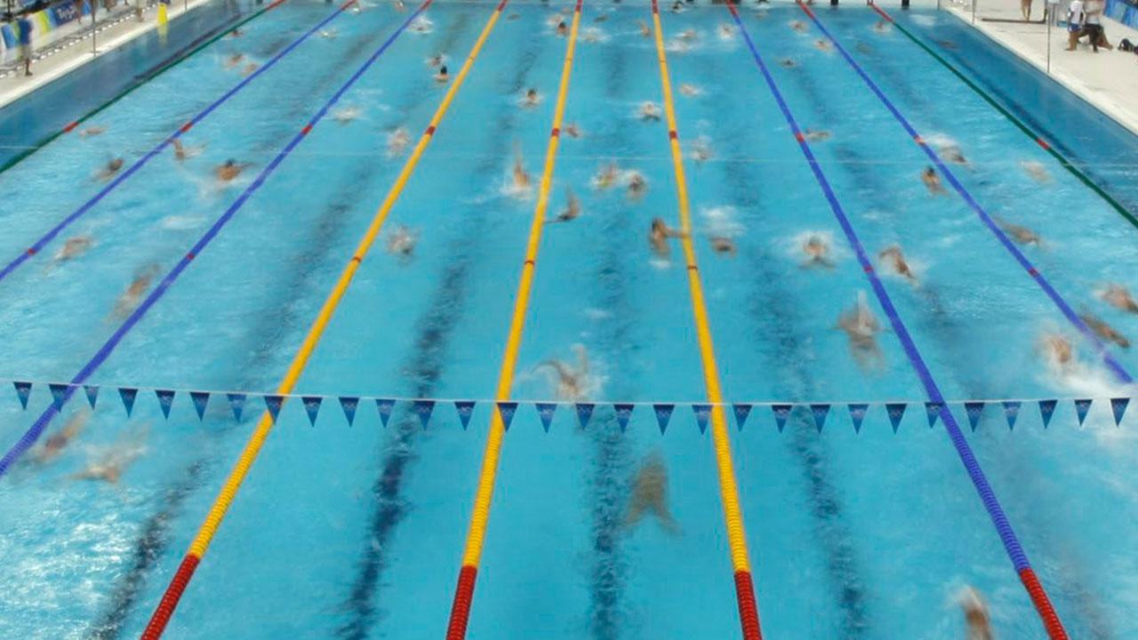 pan am pool swim meet software