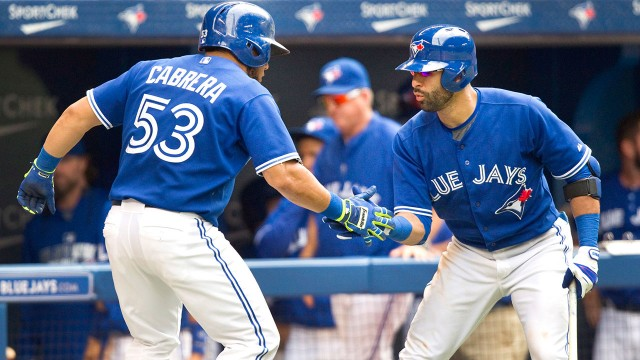 Cabrera's big year continues in Blue Jays win