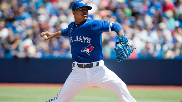 Stroman, Francisco lead Jays to rout of Red Sox