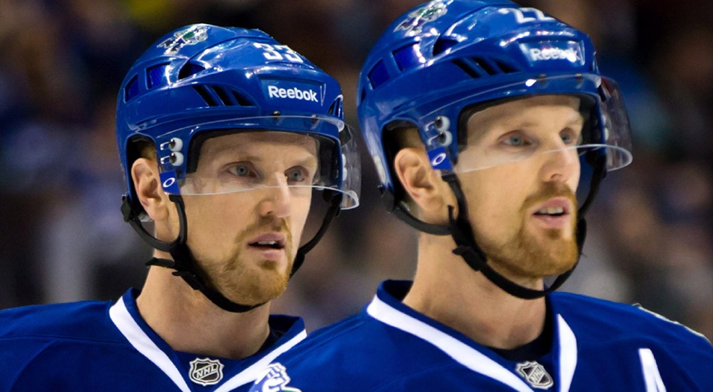 Vancouver-Canucks-forwards-Henrik-and-Daniel-Sedin.-(Darryl-Dyck/CP)