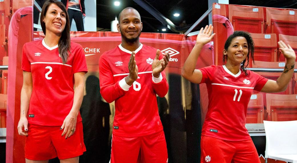 Canada Soccer unveils new 2015 red jerseys - Sportsnet.ca 591cd68e2