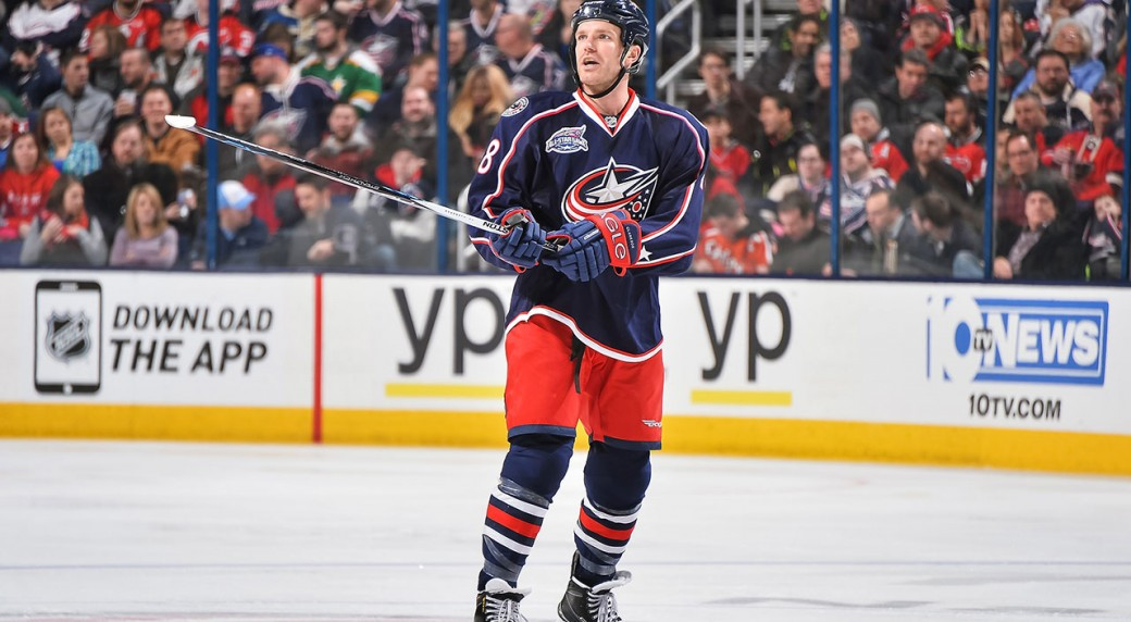 Golden Knights acquire David Clarkson, two picks from Blue Jackets ...