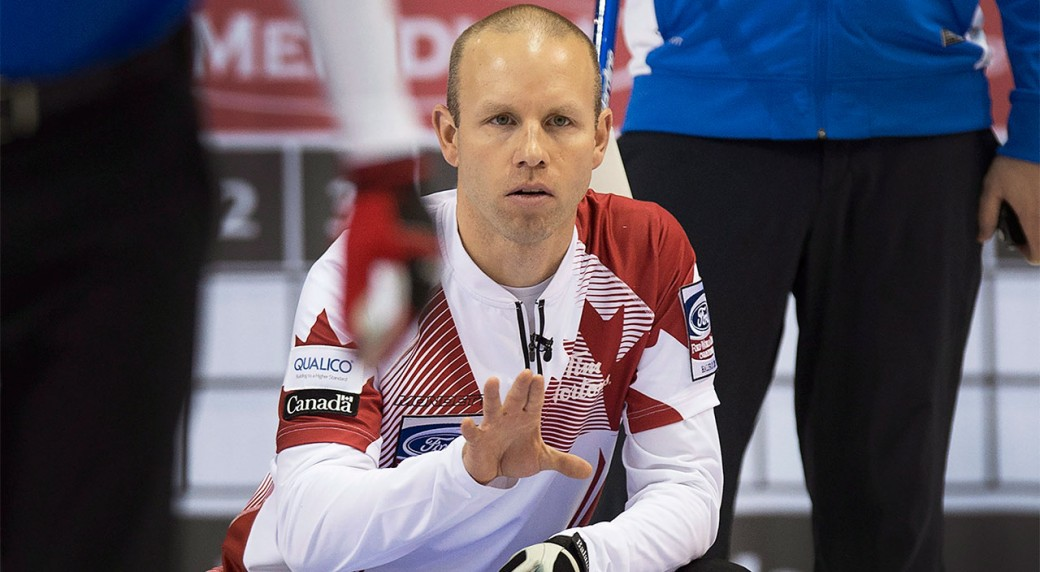Canada beats US in opener at men's curling worlds - Sportsnet ca
