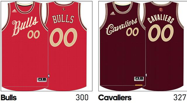 Photos  NBA s 2015 Christmas Day jerseys leaked - Sportsnet.ca 4c39818e9