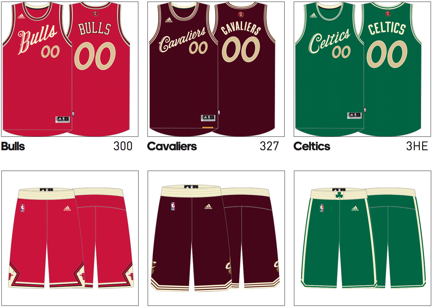 4e2da1536 Photos  NBA s 2015 Christmas Day jerseys leaked - Sportsnet.ca