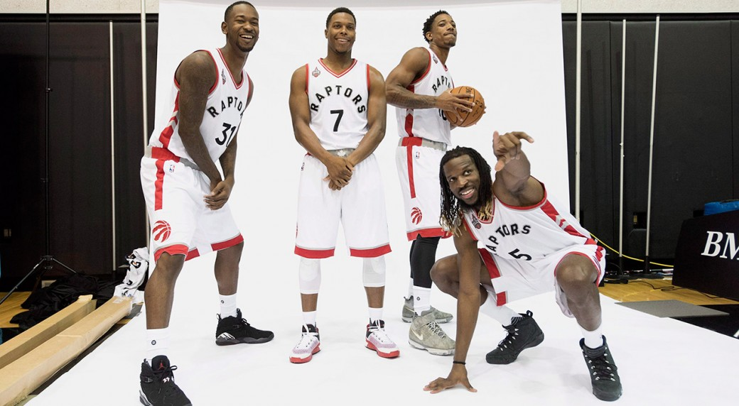 Image result for toronto raptors team 2017