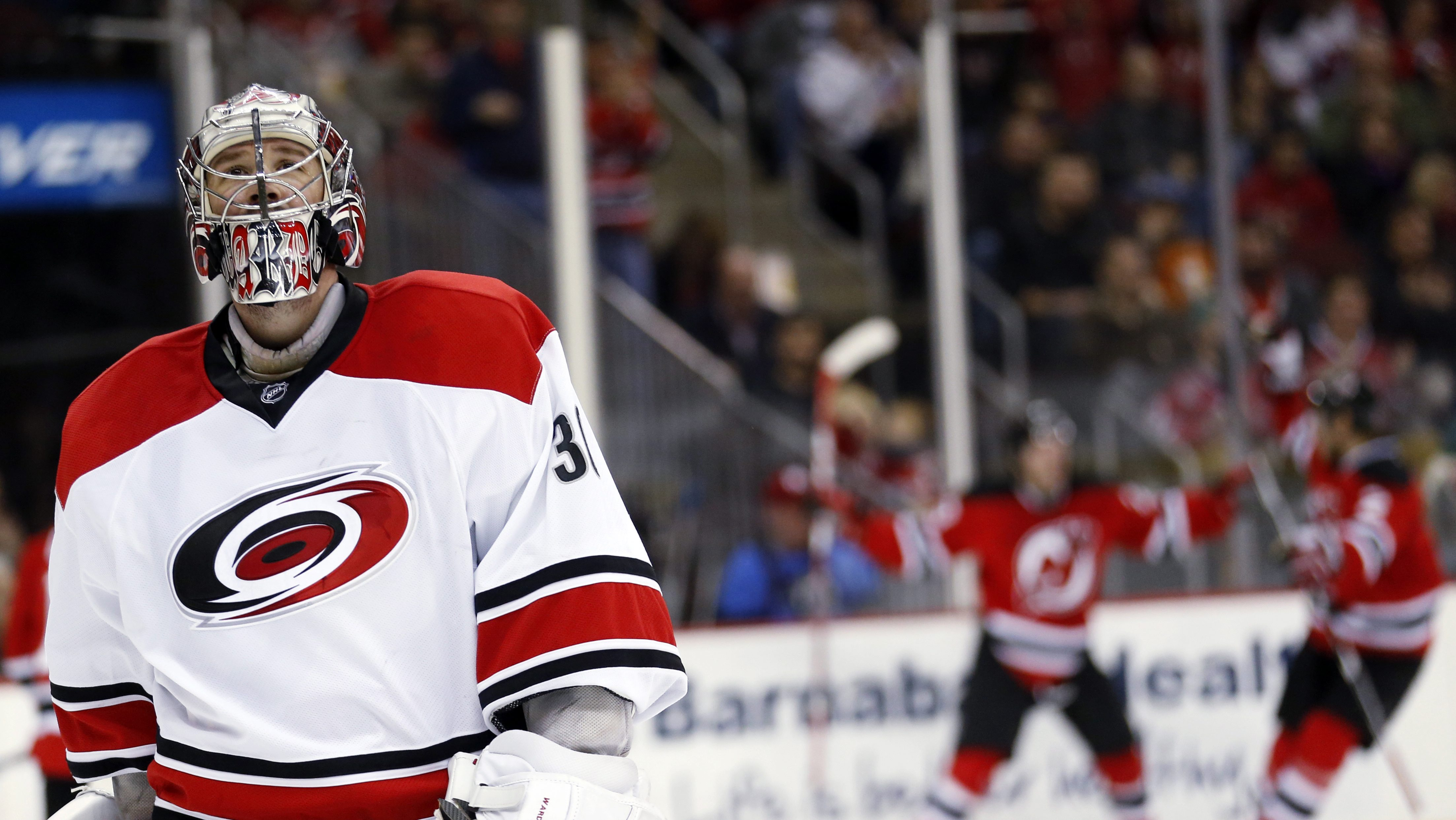 Goaltender Cam Ward Returning To Hurricanes On Two Year