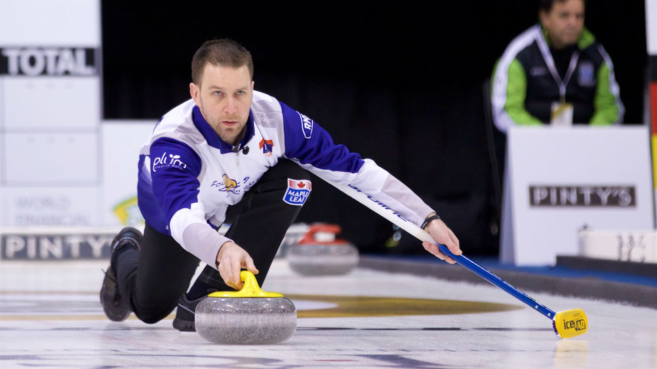 brad gushue how tall