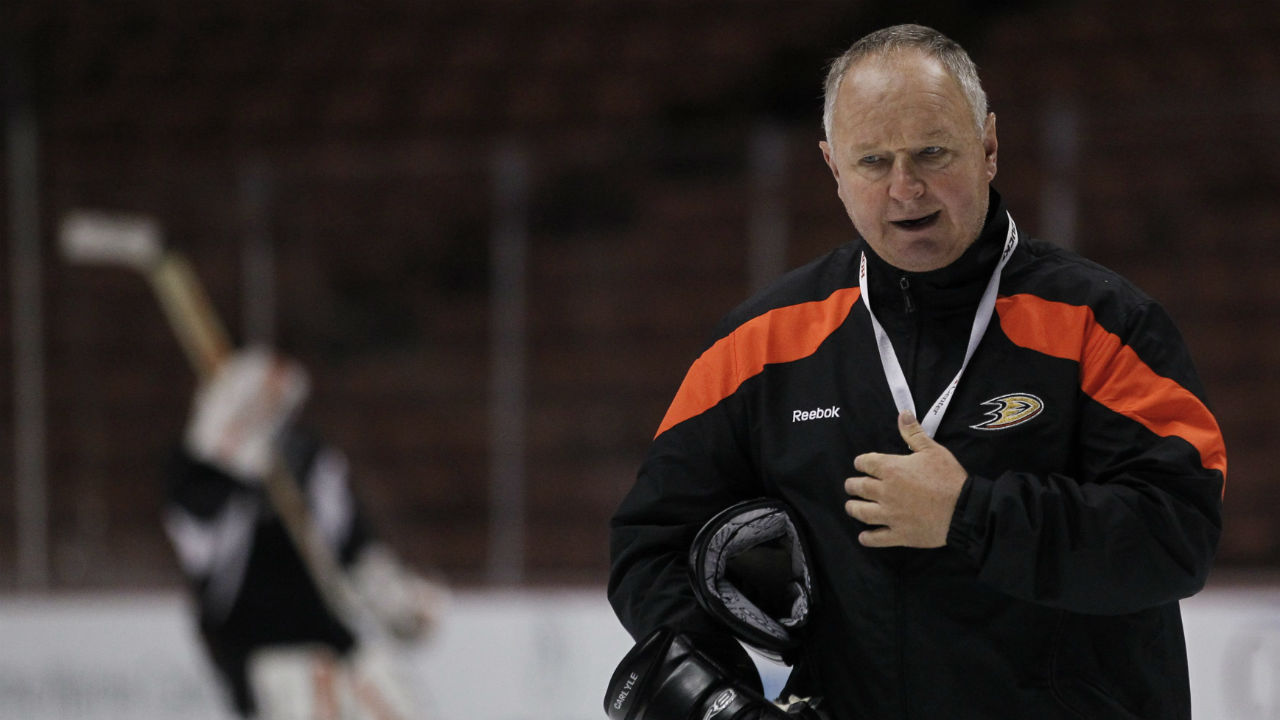 Duck, Duck, Goose. Carlyle Out As Anaheim Makes Coaching Change