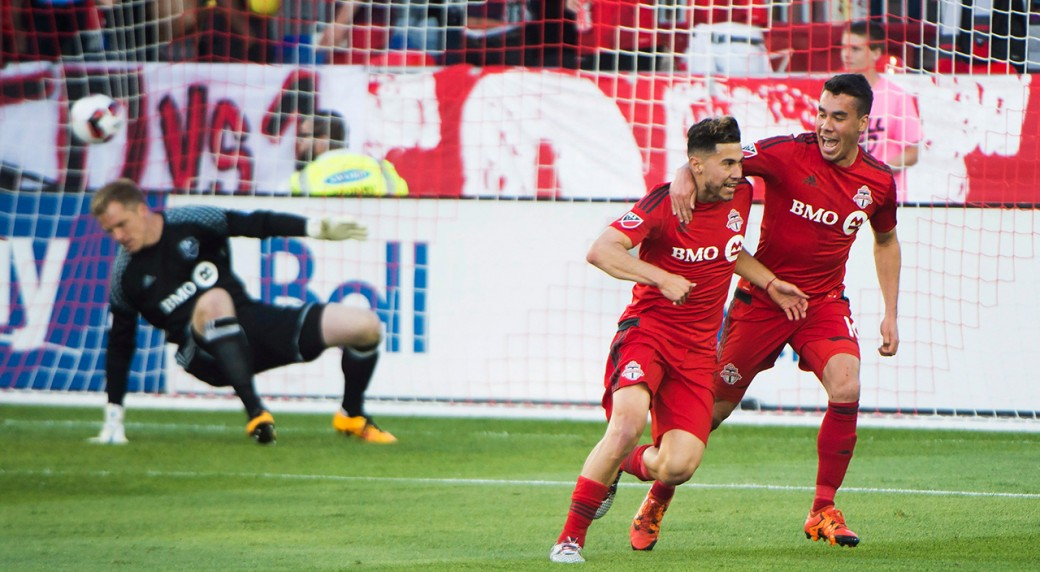 Canadians star as TFC topple Impact in 1st