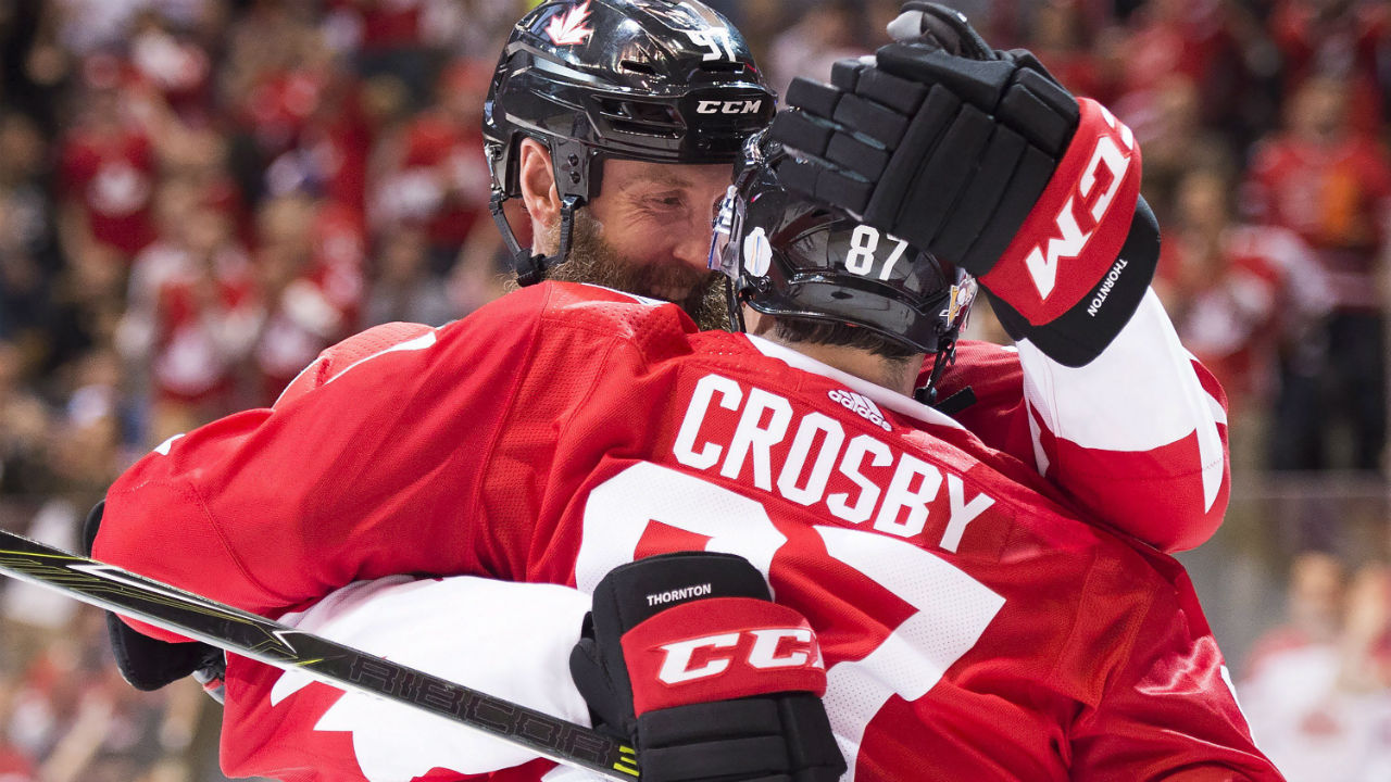 Sidney Crosby exerts his will in Team Canada's dream start ...