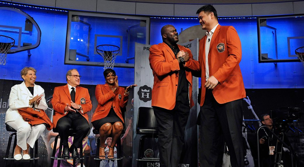 Yao Ming And Shaq The gallery for -->...
