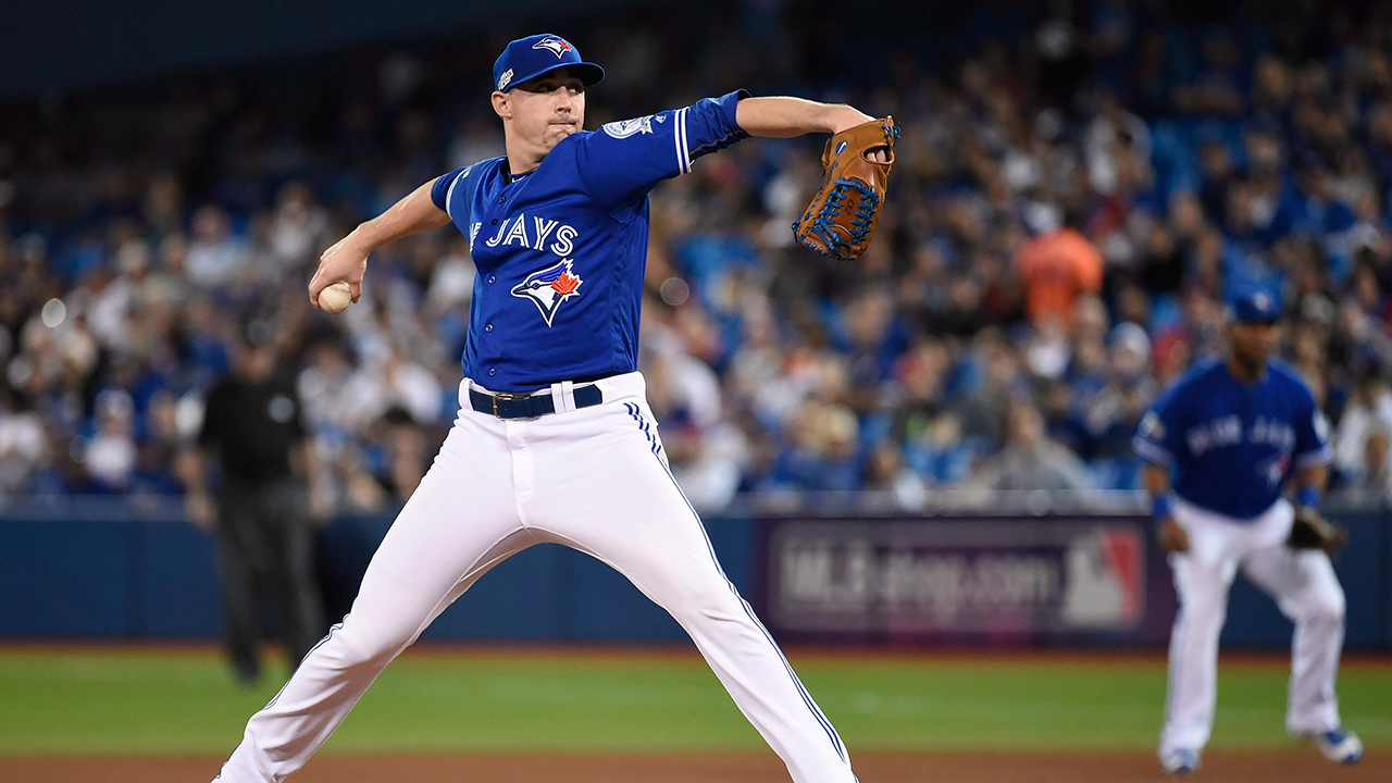 Aaron Sanchez named Canadian cover athlete for MLB The Show 17