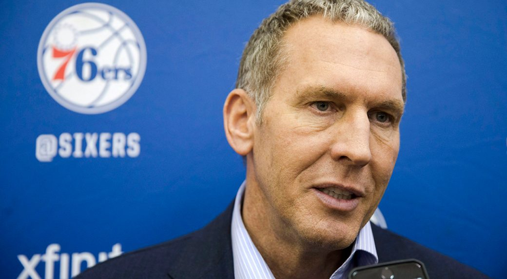 76ers, Bryan Colangelo part ways after burner account controversy
