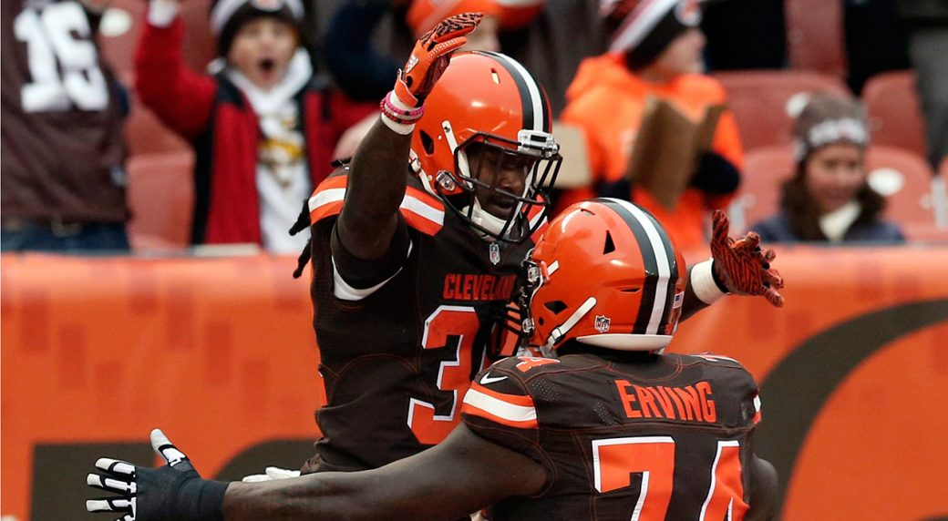 Cleveland Browns Win First Game of the Season
