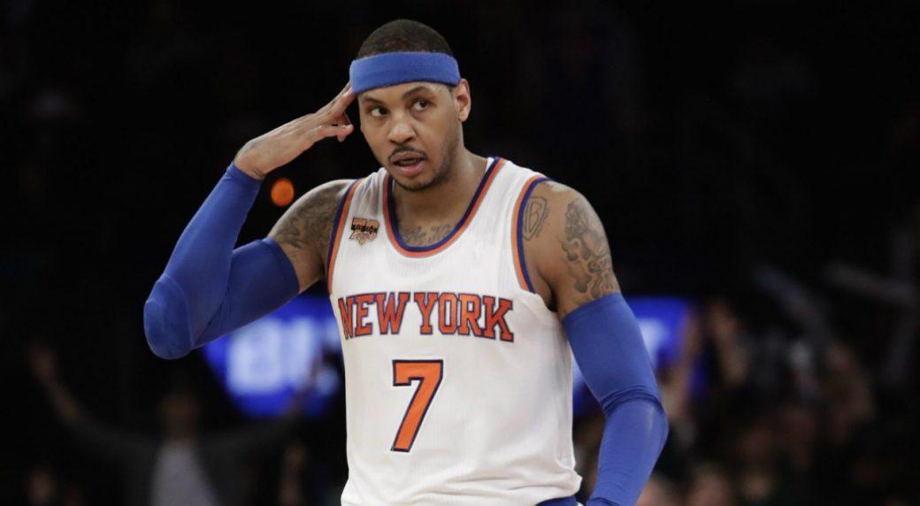 Phil Jackson: Carmelo Anthony 'better off somewhere else'