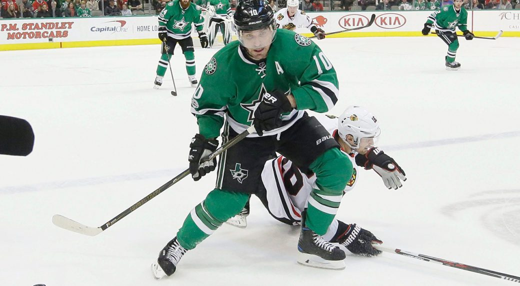 Undisclosed injury keeps Stars' Patrick Sharp out of ...