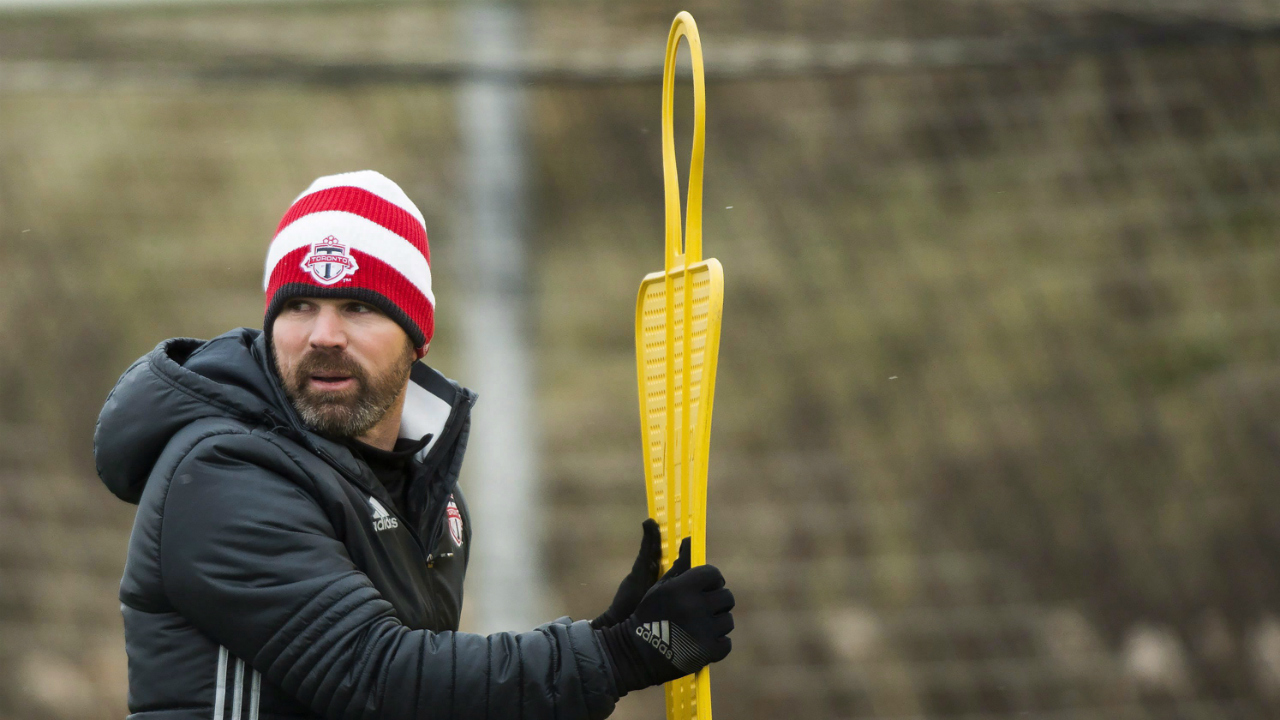 TFC coach Greg Vanney: 'I'm happy with where we are'