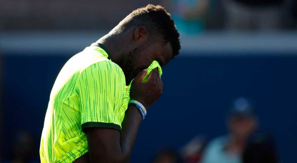 Loud sex sounds interrupt pro tennis match in Florida. Frances Tiafoe was  about to serve Mitchell Krueger during their Tuesday night match in the  Sarasota ...