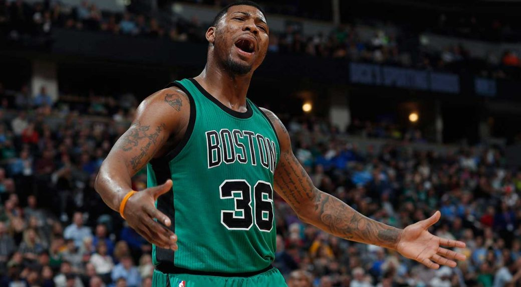 J.R. Smith tweets out at Marcus Smart after preseason game