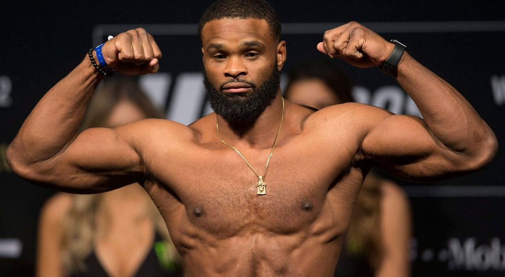Breaking! Tyron Woodley will defend his title at UFC 214