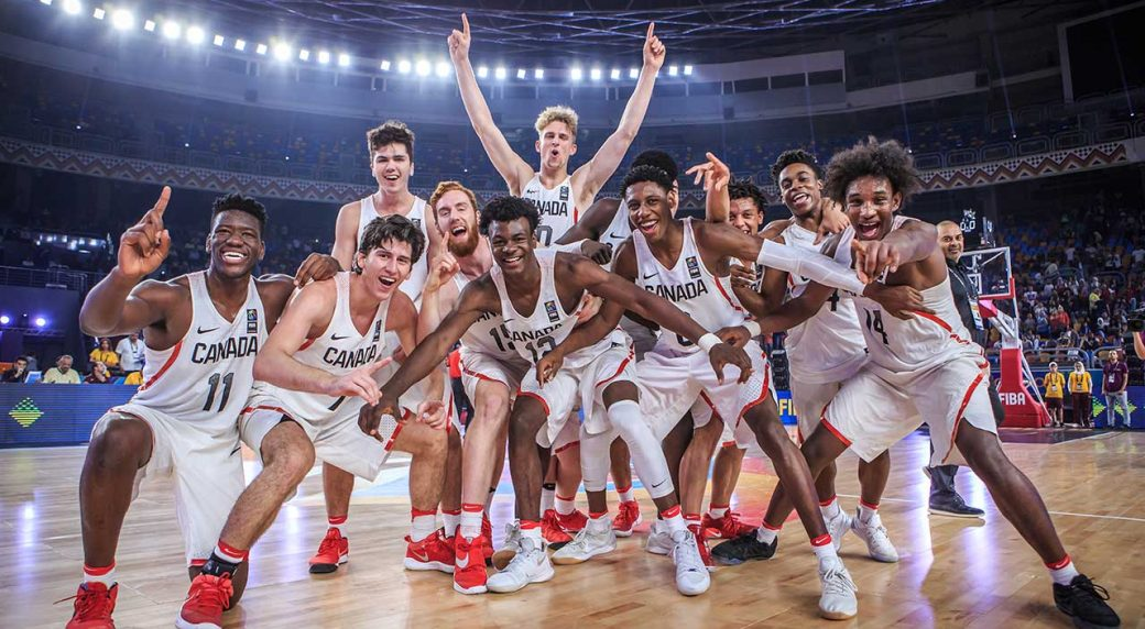 U19 FIBA basketball champions named Canadian Press team of year - Sportsnet.ca