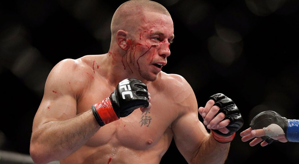 Georges St Pierre Signs Fight Agreement For Ufc 217 At Msg