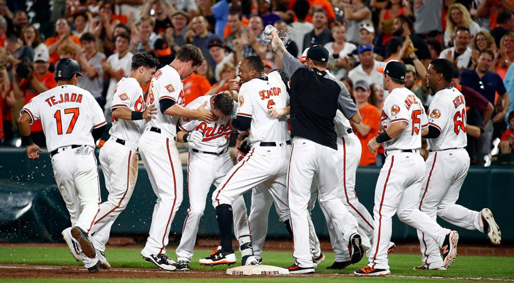ec3b66a1dc6 Gentry hits game-winner as Orioles take down Royals - Sportsnet.ca