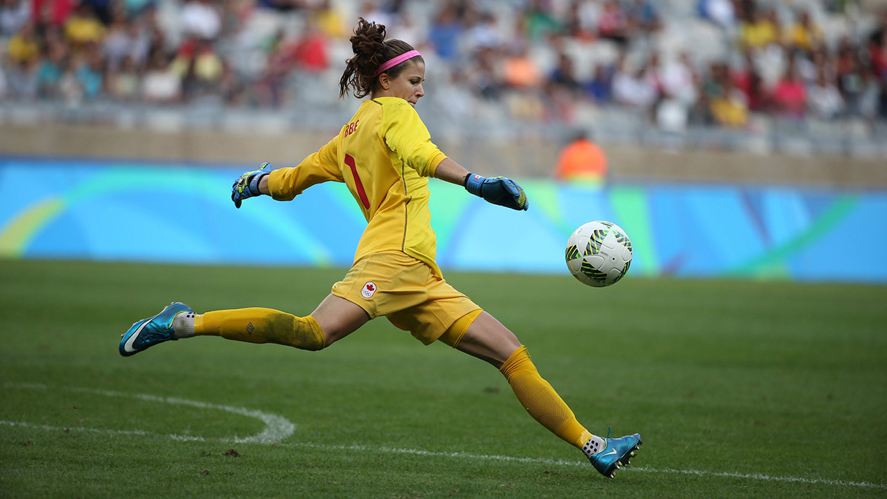 Canadian goalkeeper Stephanie Labbe denied shot at men's team by league