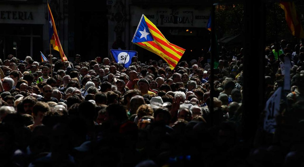 Spain's Guardia Civil raids Catalan government headquarters amid referendum row