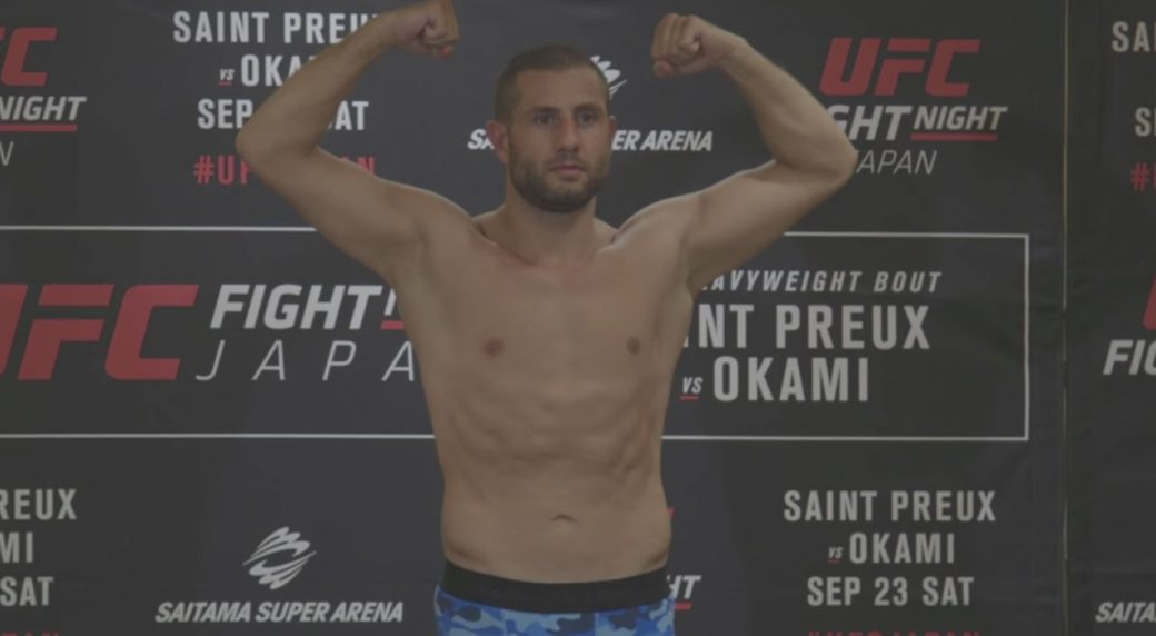 UFC Saitama Results: Gokhan Saki Floors da Silva in First Round Brawl