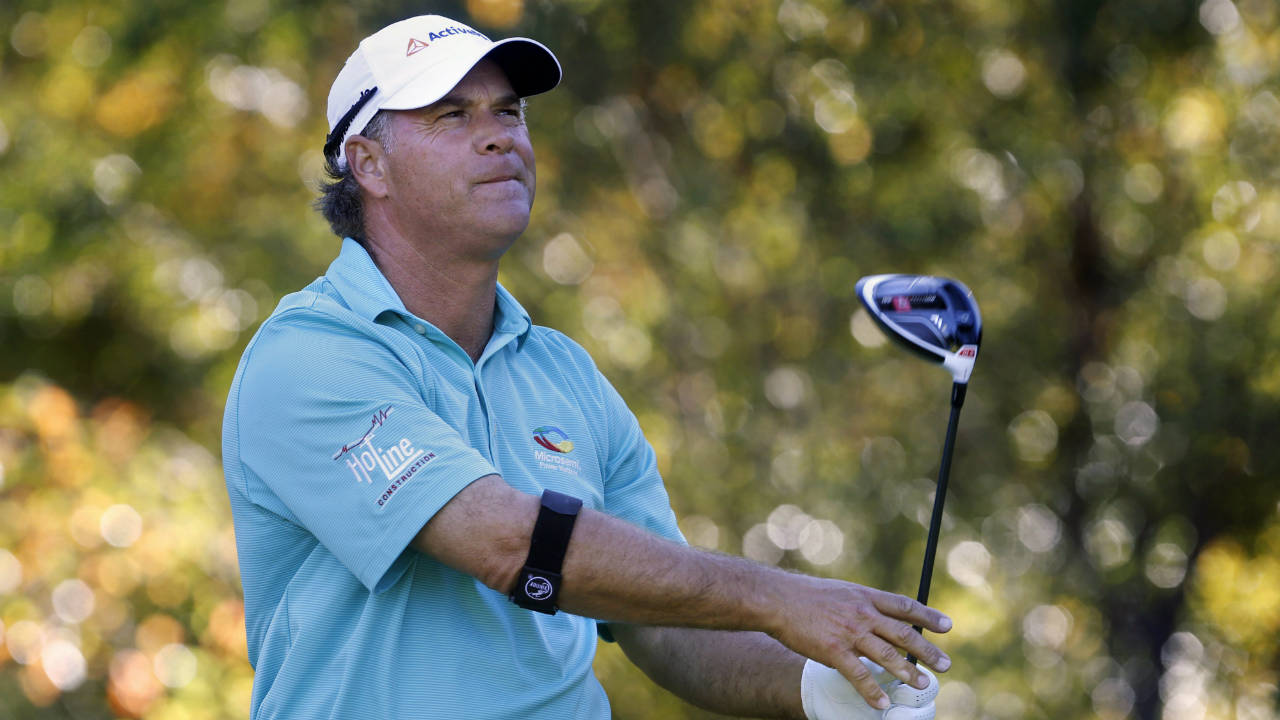 McCarron, Maggert, Bryant tied for lead at Senior Players