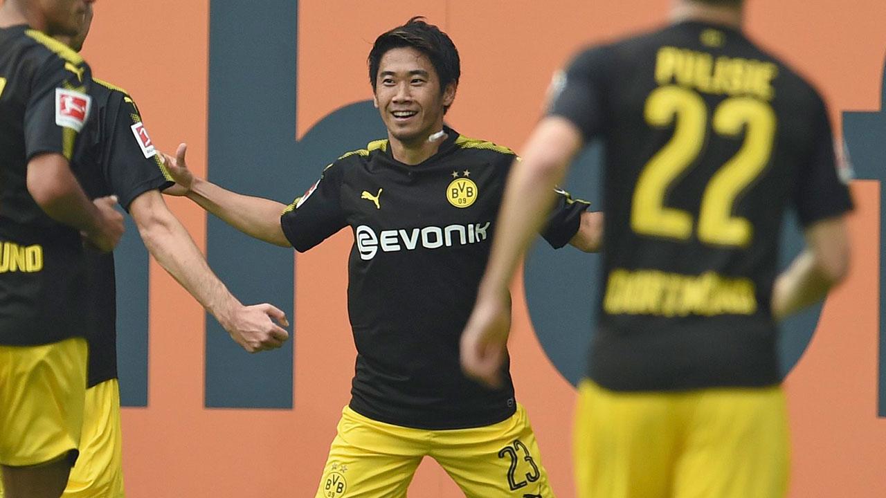 Kagawa be es highest scoring Japanese player in Bundesliga