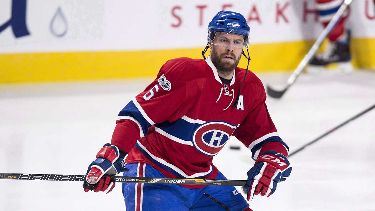 Montreal Canadiens Shea Weber