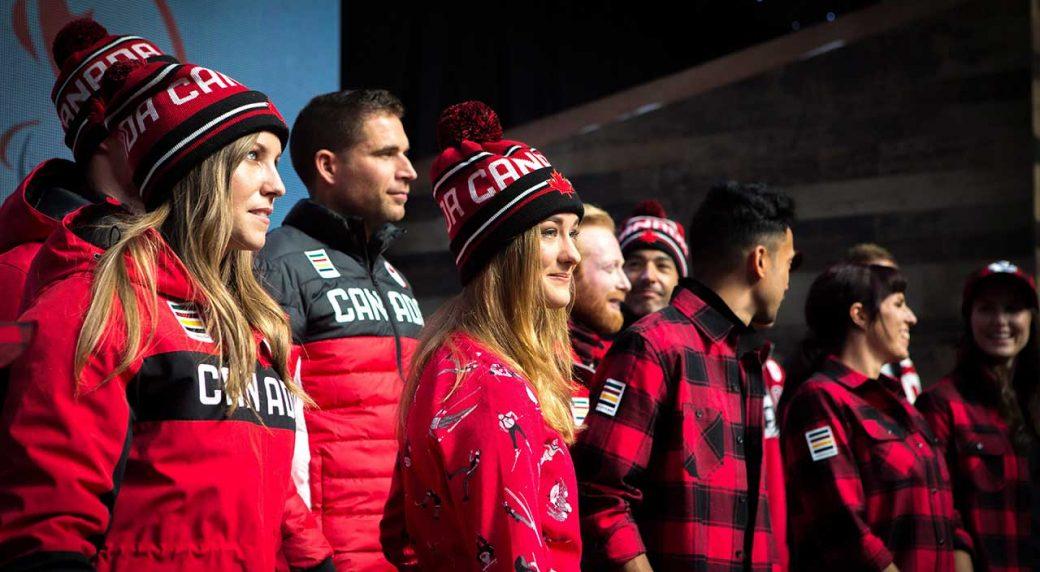ed479bfa054a Hudson s Bay Co. unveils Canada kit for Pyeongchang Olympics ...