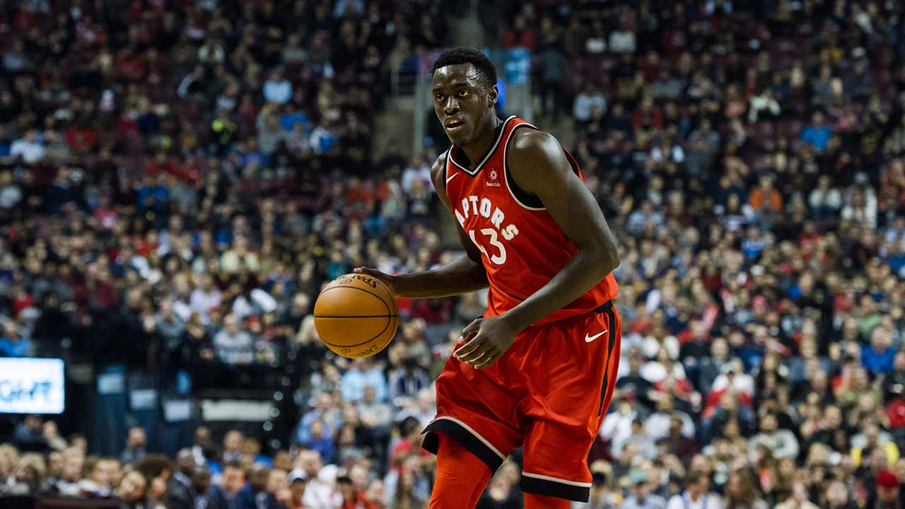 Gotta See It: Raptors' Pascal Siakam is now drilling deep threes