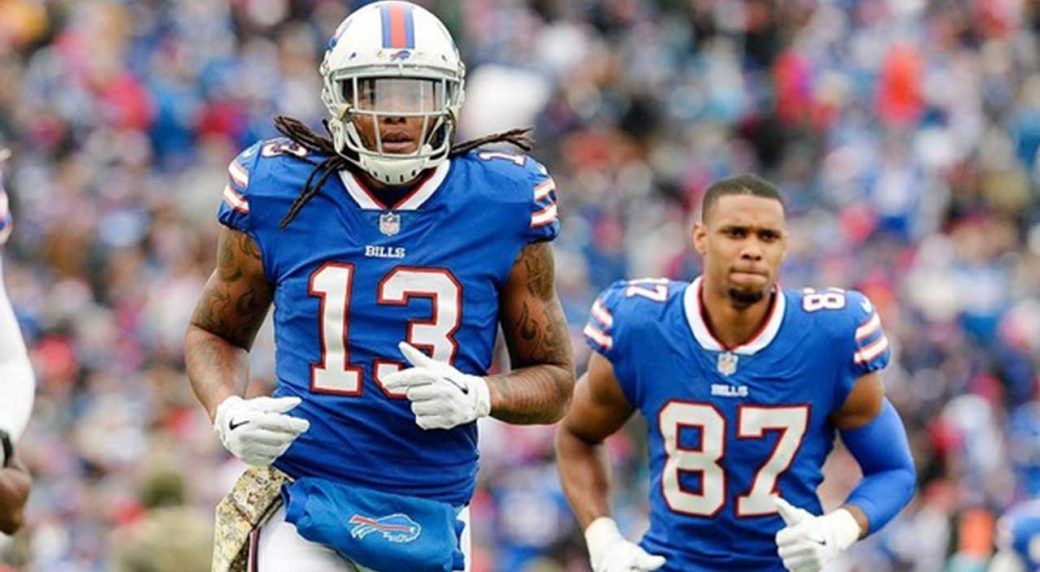 Kelvin Benjamin robbed of Buffalo Bills touchdown after call overturned against Patriots