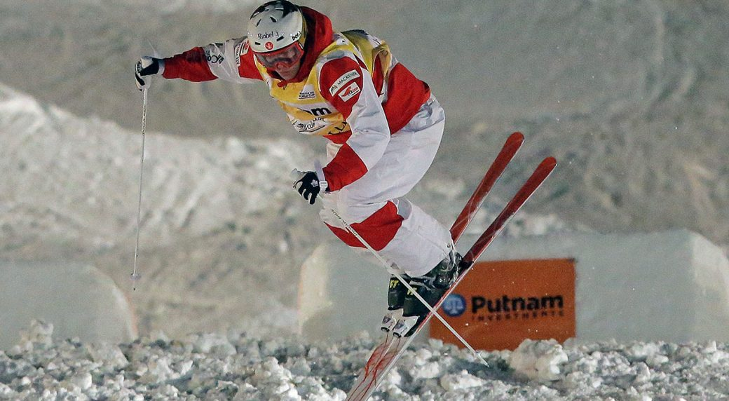 Canada's Mikael Kingsbury wins Olympic gold in men's moguls