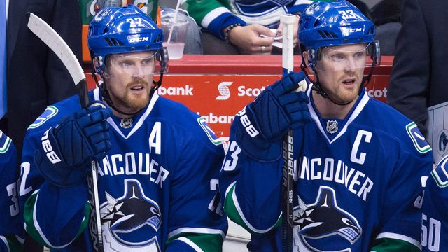 Spotlight purely on Sedins in Canucks  loss to Golden Knights ... 87417d9e6