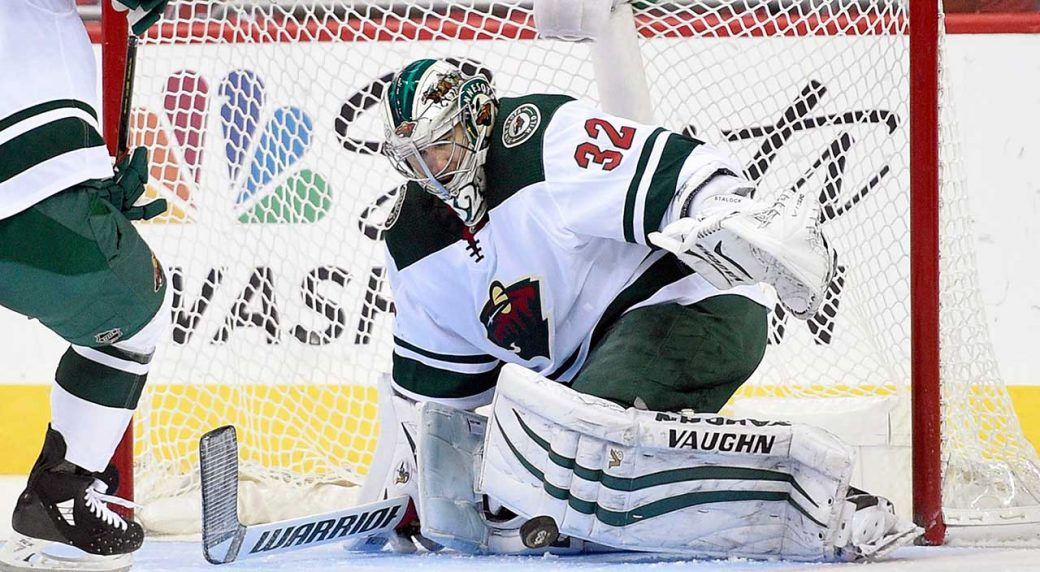 Wild goalie Devan Dubnyk out at least another week