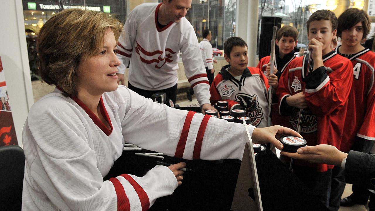 Cassie Campbell-Pascall talks Hockey Day, Olympics, Bob Cole