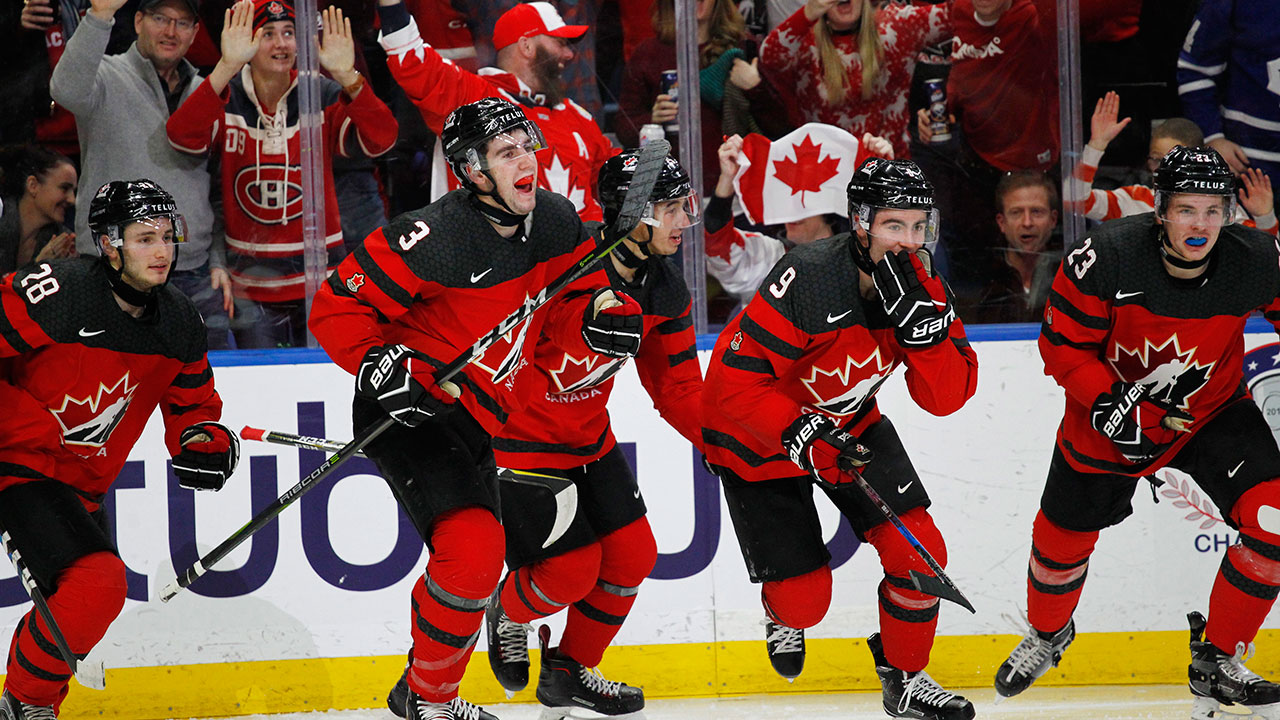 1b42ebd0eb0 Canada defeats Sweden late to win WJC gold medal - Sportsnet.ca